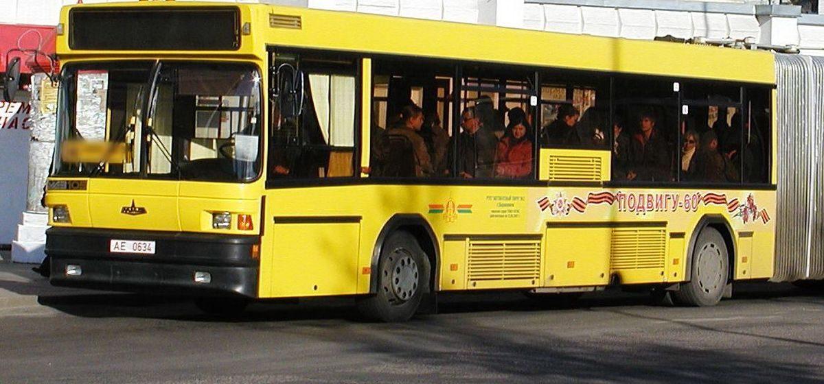 В Барановичах хотят изменить маршрут автобуса №3