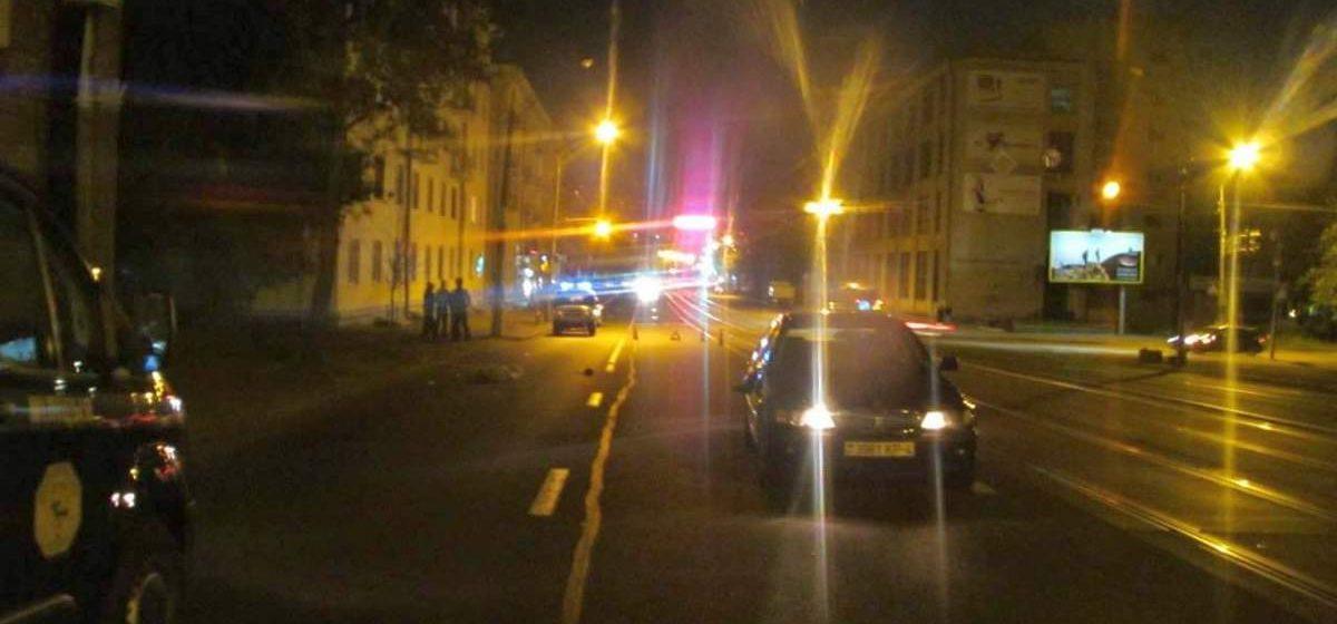 В Минске под колесами автомобиля погиб пьяный бездомный