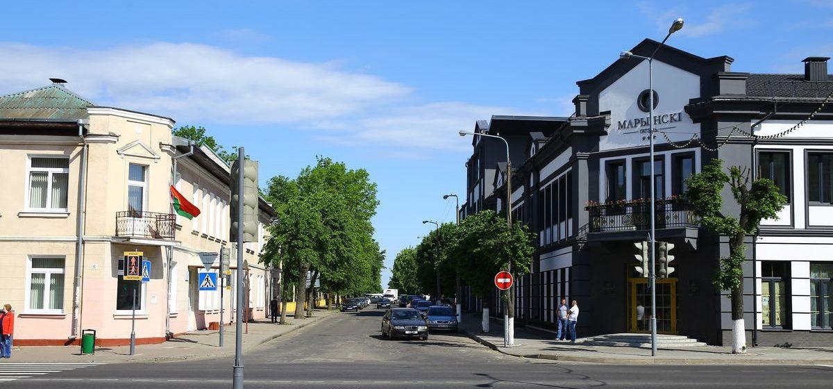 В Барановичах закрыли на ремонт улицу Гагарина