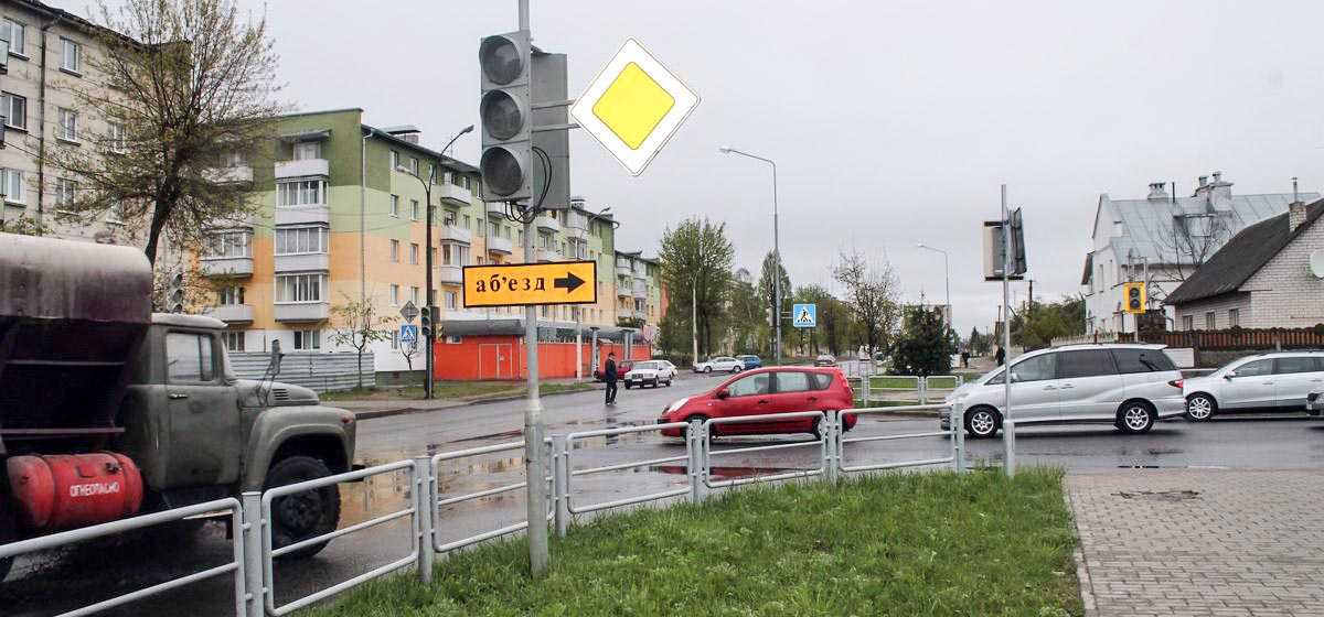 Почему в Барановичах не работают светофоры на улицах Брестской и Кооперативной? Фотофакт