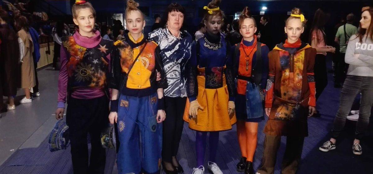 Юные барановичские дизайнеры вошли в тройку победителей финала конкурса «Мельница моды-2017»