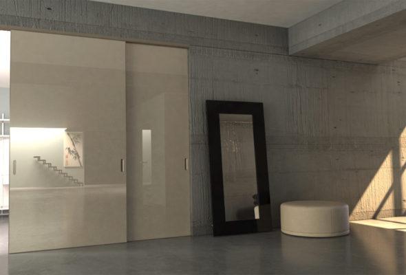 Двери-невидимки – отличный дизайнерский ход