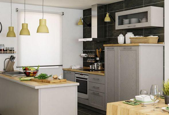 Столешница на кухне должна быть надежной и прочной