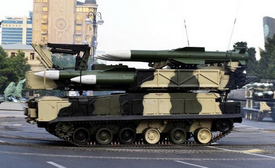 В Беларуси впервые прошли боевые стрельбы из модернизированного ЗРК «Бук МБ»