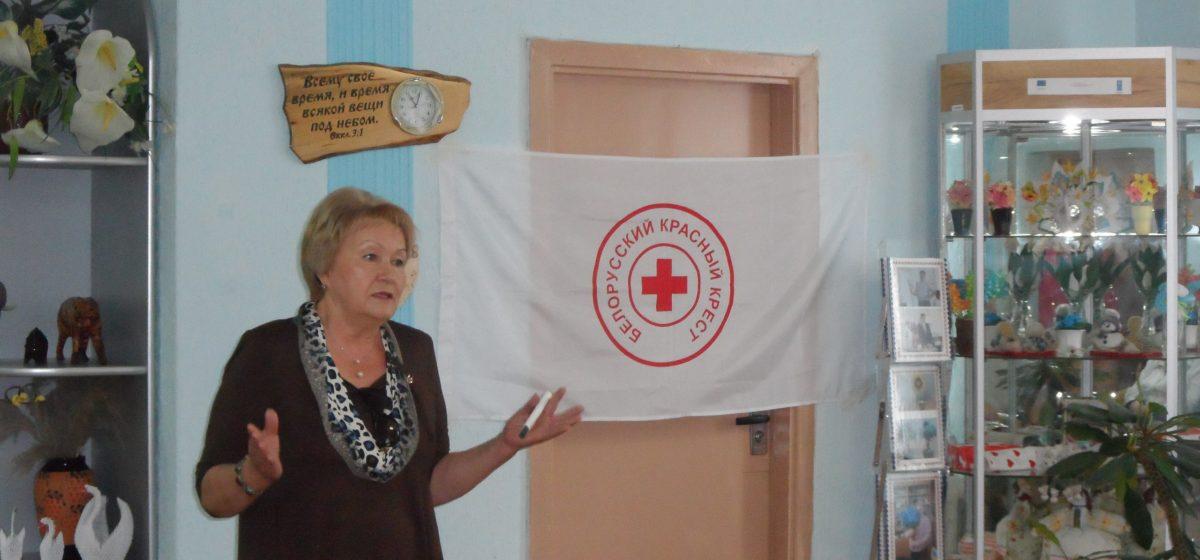 Барановичский Красный Крест провел ярмарку социальных услуг