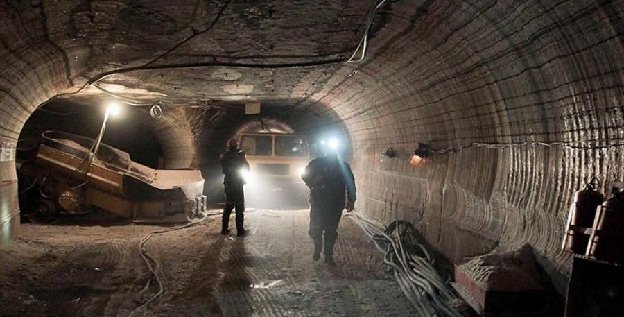 Более десяти единиц техники прибыли к месту пожара на ОАО «Беларуськалий»