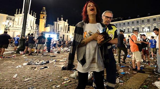Во время просмотра финала Лиги чемпионов в Турине пострадали более тысячи человек