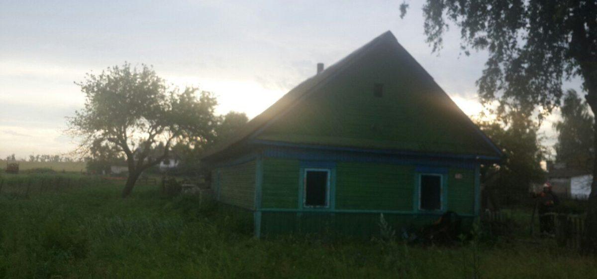 На пожаре в Барановичском районе погиб мужчина