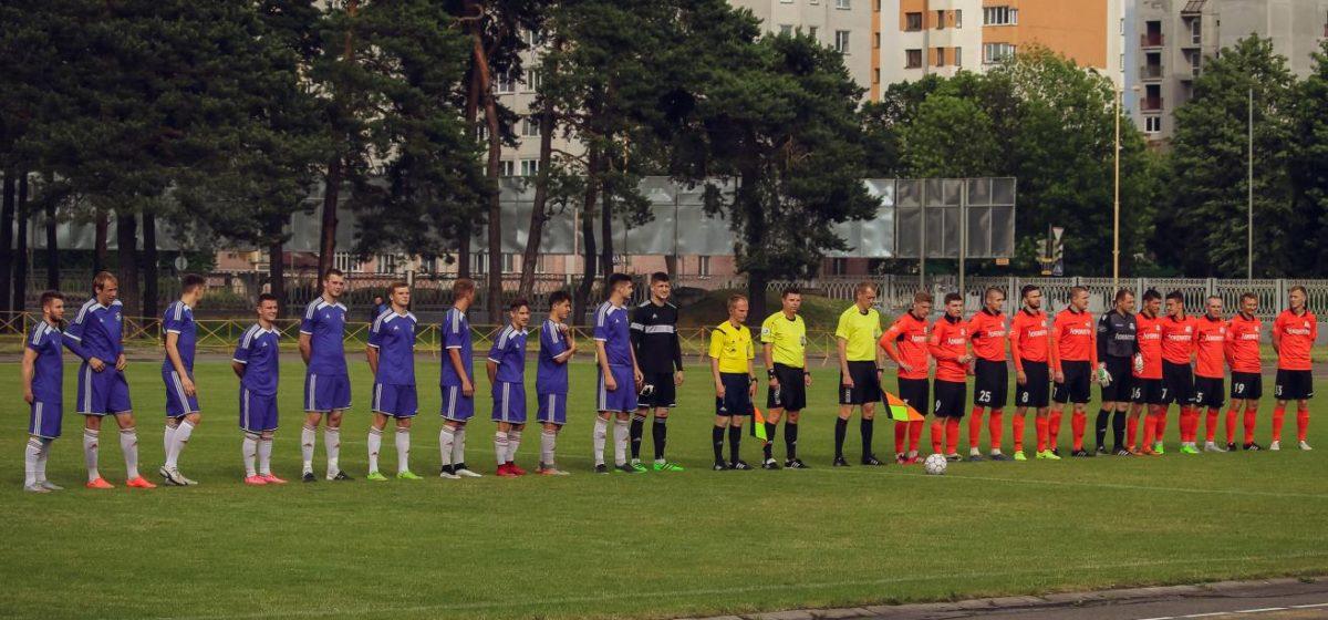 ФК «Барановичи» проиграл гомельскому «Локомотиву» в домашнем матче чемпионата страны