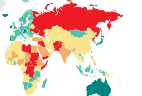 Беларусь поднялась на четыре позиции в Глобальном индексе миролюбия