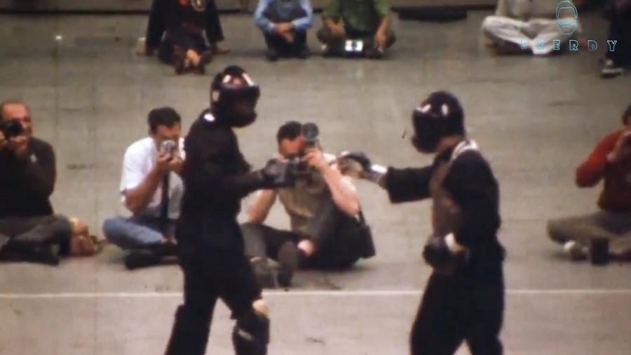 В интернете опубликовали единственное видео реального боя Брюса Ли