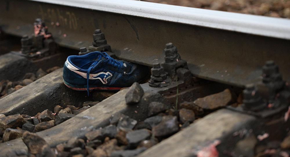 Под Речицей пьяному мужчине поезд отрезал ногу