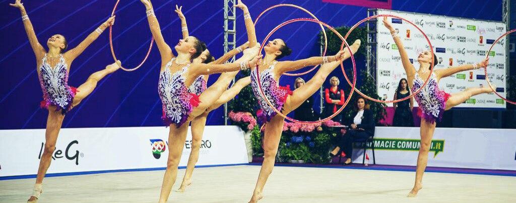 Барановичская гимнастка выиграла золото и серебро турнира серии «Гран-При» по художественной гимнастике