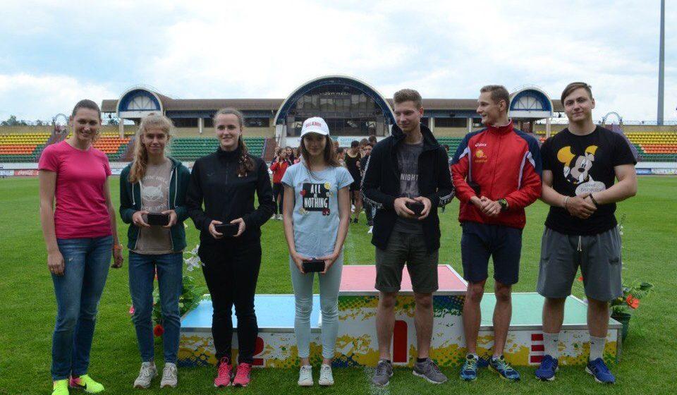 Барановичские легкоатлеты победили на Олимпийских днях молодежи Беларуси