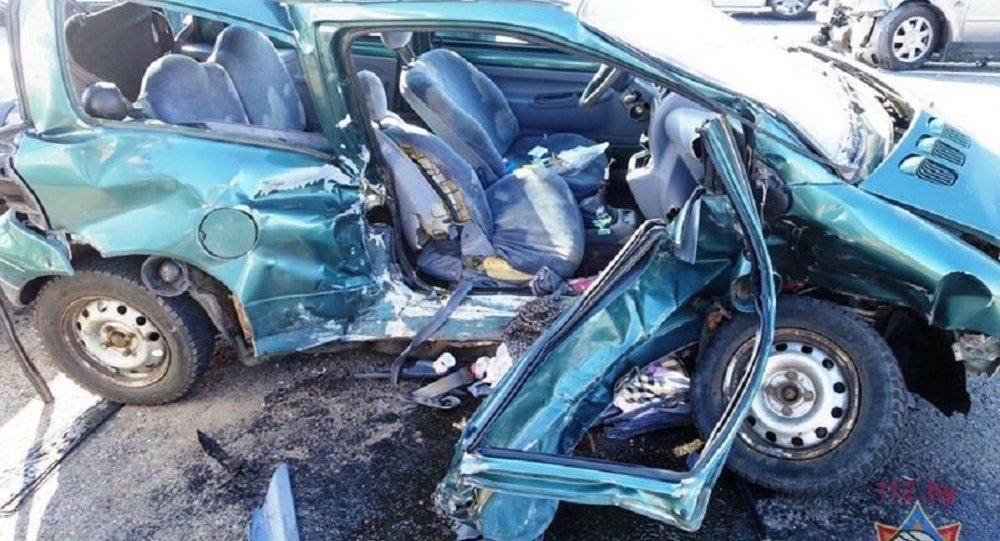 Авария в Минске: девушка-пассажир скончалась в больнице