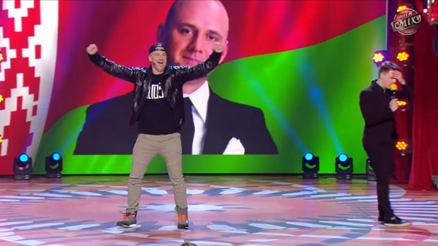 Белорусы «отожгли» на украинском телешоу «Лига Смеха» (видео)