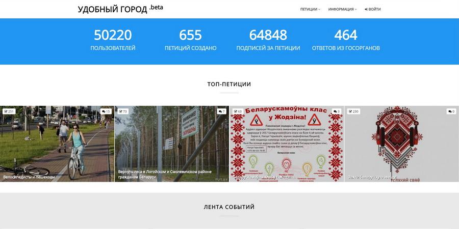 У жителей Барановичей появилась возможность писать петиции чиновникам на сайте Petitions.by
