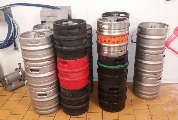 Около четырех тонн пива изъяли у предприятия на Брестчине