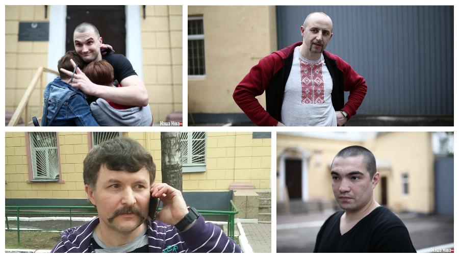 По «Делу патриотов» на свободу выпустили четырех задержанных