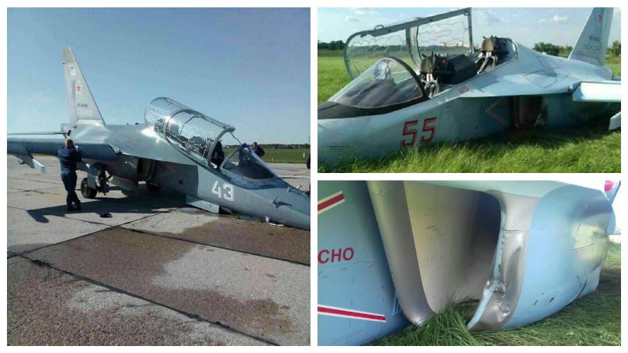 В России во время тренировочных полетов за день потерпели аварию сразу два самолета Як-130