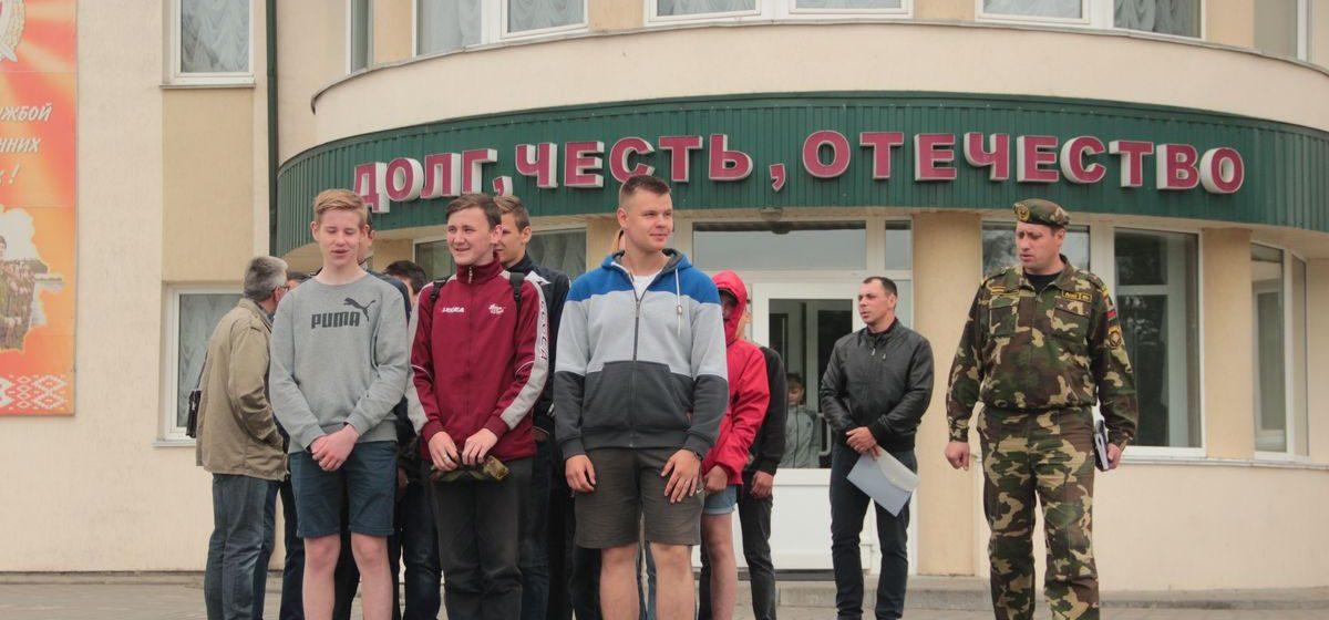 В Барановичах в войсковой части 7404 открылся лагерь для школьников