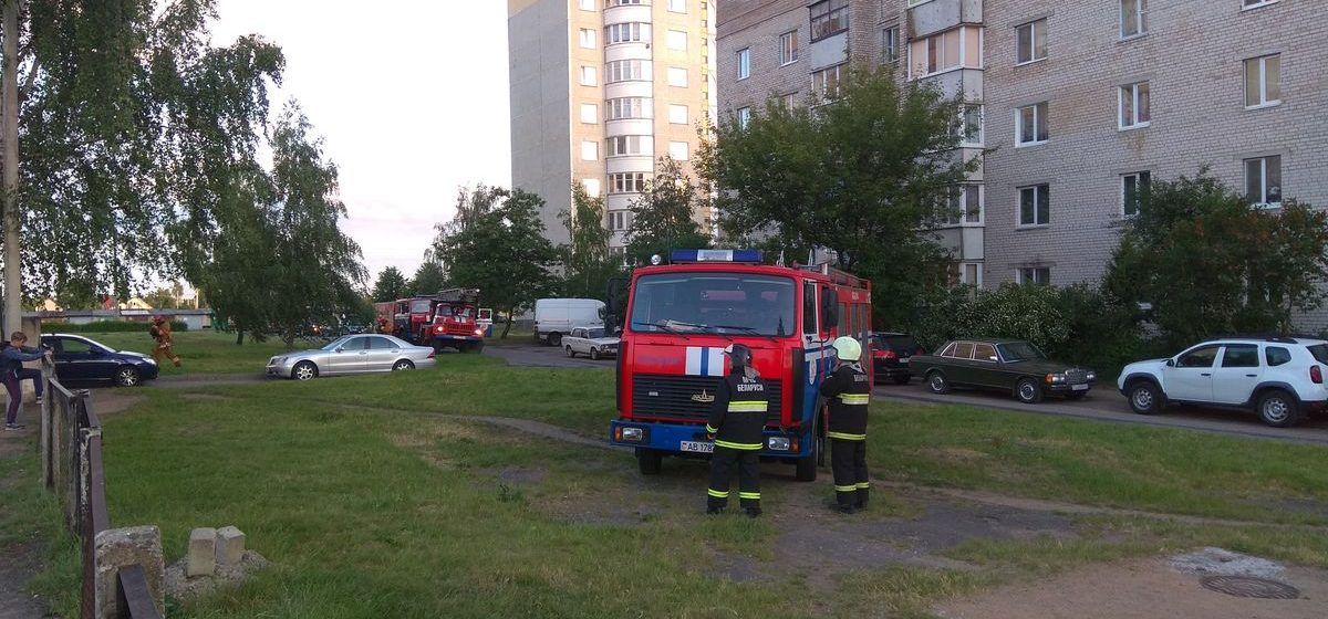 В Барановичах эвакуировали жителей многоэтажки из-за сильного запаха газа в доме