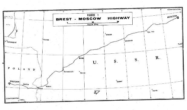 Что писали агенты ЦРУ в 1950-х о строительстве участка дороги Брест-Москва около Барановичей