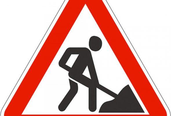 В Беларуси хотят изменить расстояние, на котором будут устанавливать знак о проведении дорожных работ