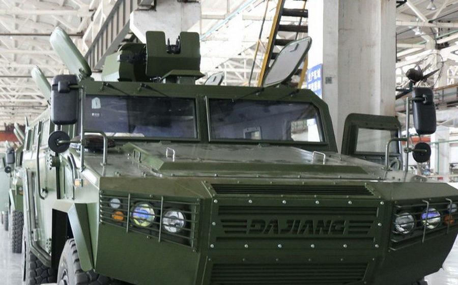 Китай бесплатно поставит ВС РБ партию броневиков CS/VN3
