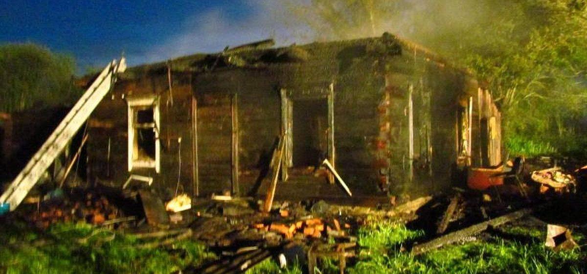 В Барановичском районе муж погиб на пожаре, пока жена была в гостях