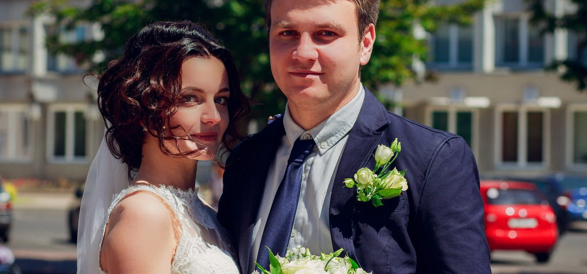 Свадебная пара недели: Никита и Маша