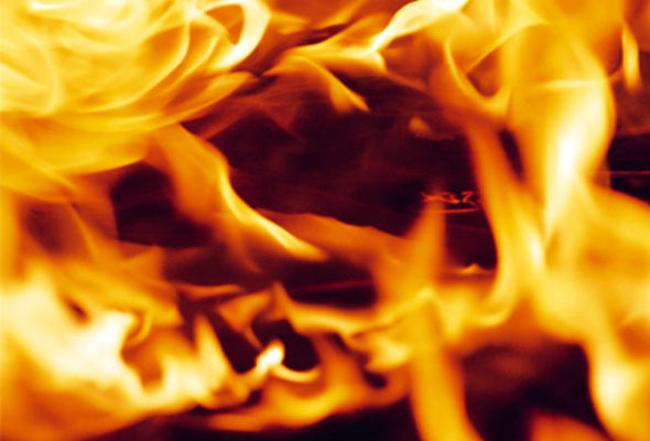 В Барановичах в частном доме сгорел второй этаж