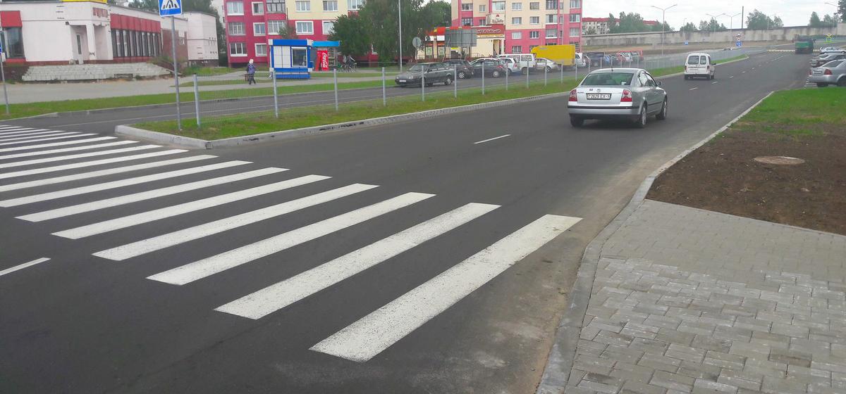 Фотофакт. В Барановичах открыли движение транспорта по улице Профессиональной
