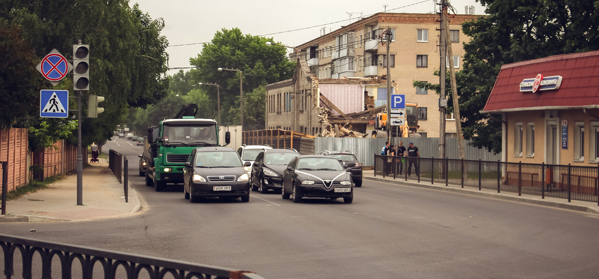 В Барановичах расширят улицу Тельмана