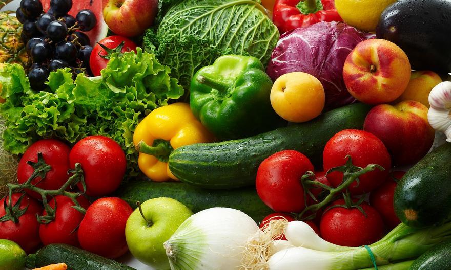 Чем полезны овощи и фрукты разных цветов