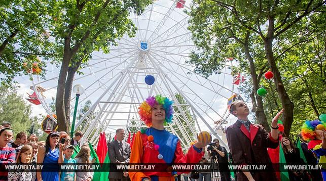 В Бресте открылось второе по величине в Беларуси колесо обозрения
