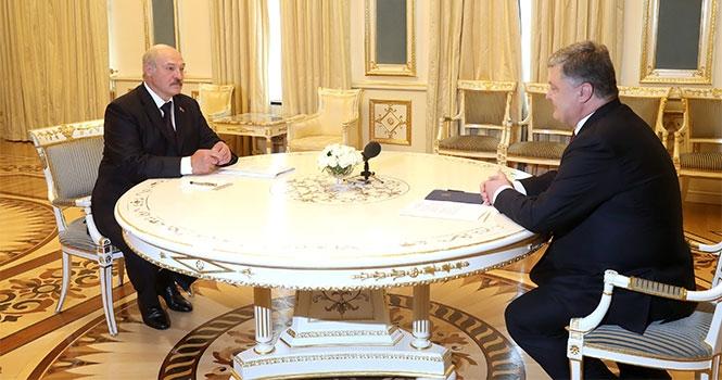 Лукашенко на встрече с Порошенко: «Мы, русские, украинцы — ядро цивилизации в этой части Европы»