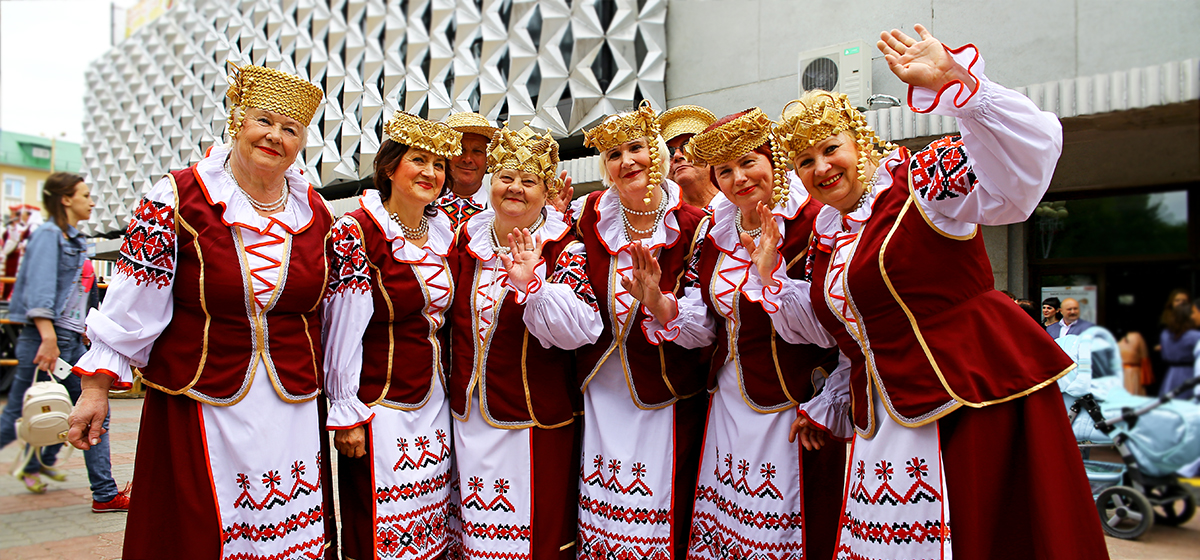 Фоторепортаж. Барановичи празднуют День Независимости