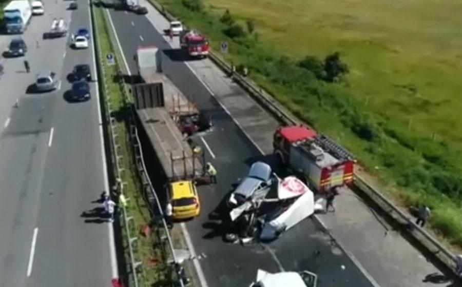 В Болгарии произошло массовое ДТП, в котором пострадали больше 30 человек