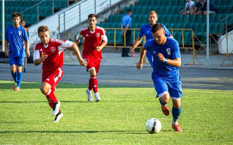 ФК «Барановичи» завершил первый круг чемпионата страны ничьей на выезде