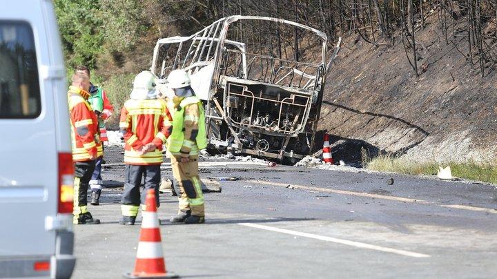 Автокатастрофа в Германии: погибли как минимум 18 пенсионеров