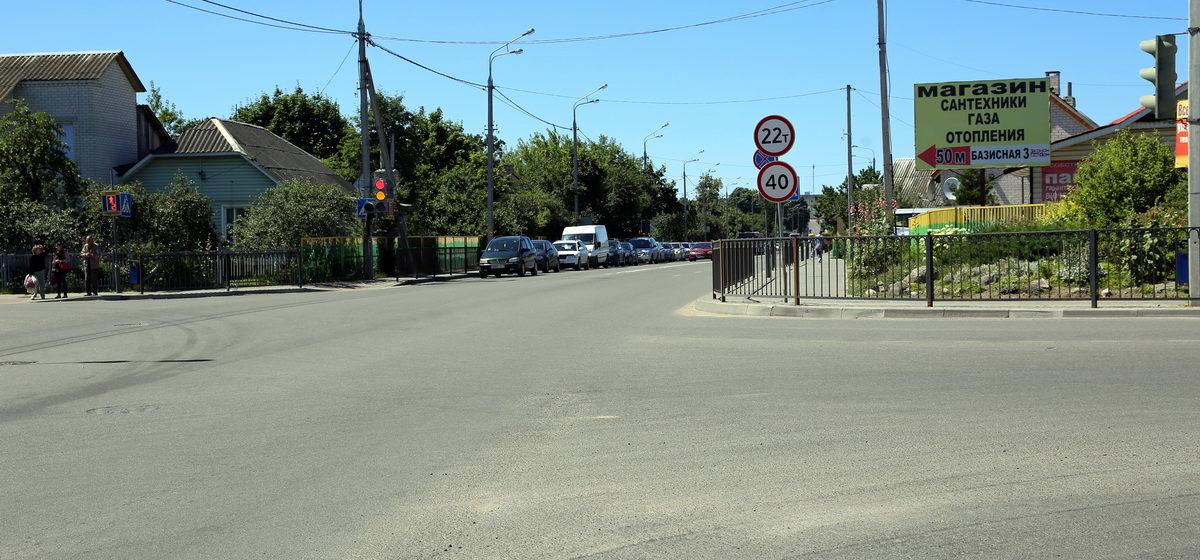 В Барановичах на улице Тельмана, где сбили пешехода, ограничили скорость движения