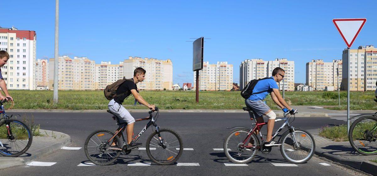 Барановичский горисполком пояснил, какие улицы в 2017 году адаптируют для велосипедистов