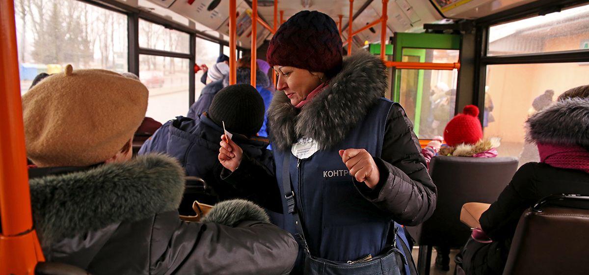 В Барановичах растет количество нарушителей в автобусах