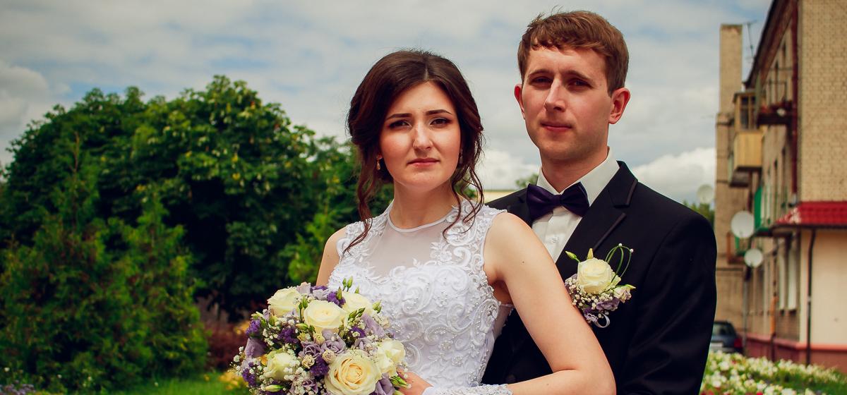 Свадебная пара недели: Павел и Алеся