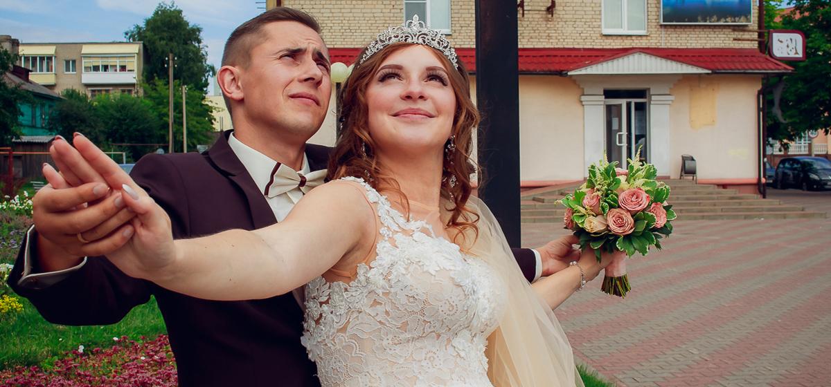 Свадебная пара недели: Яна и Владислав