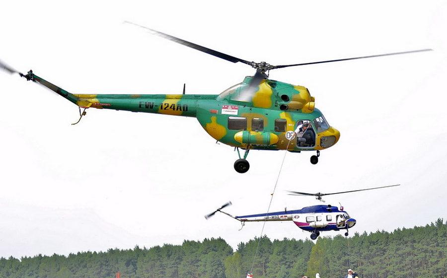 В Беларуси пройдет чемпионат мира по вертолетному спорту