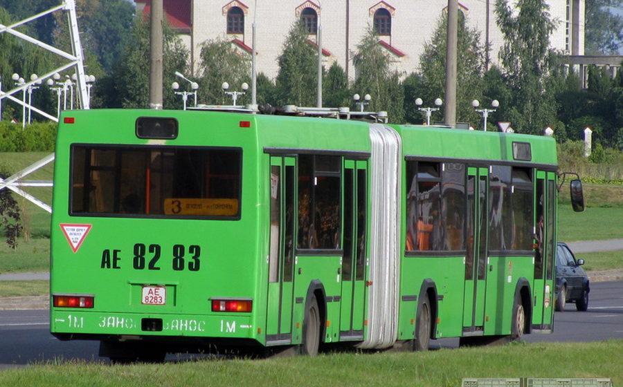 В Барановичах изменится расписание движения автобусов по маршруту №3