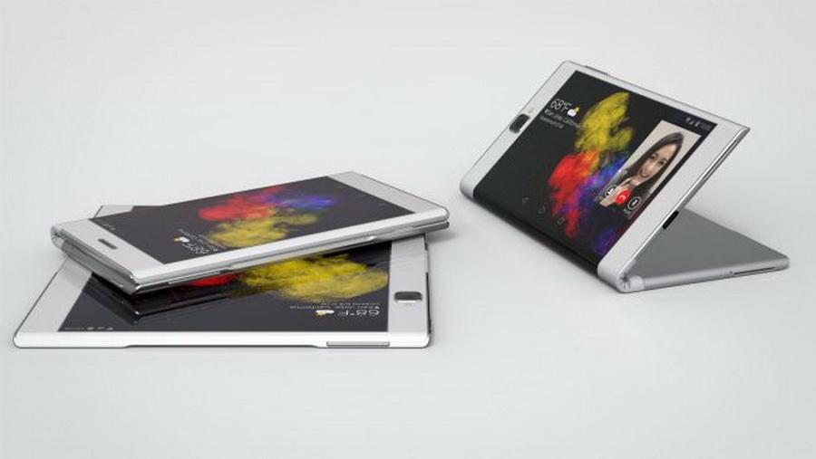 Компания Lenovo впервые представила свой гибкий планшет