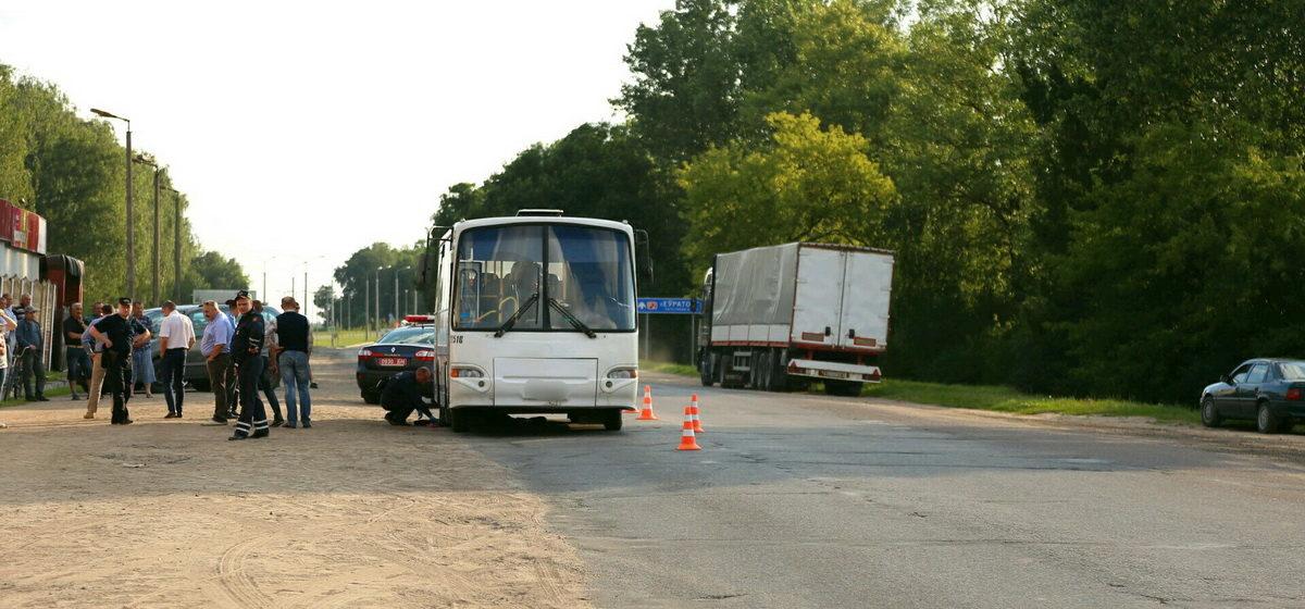 В Барановичах автобус насмерть сбил пешехода